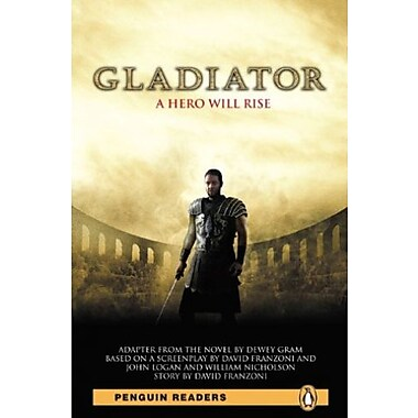 Gladiator, Level 4, Penguin Readers (2nd Edition) (Penguin Readers, Level 4), New Book (9781405882187)