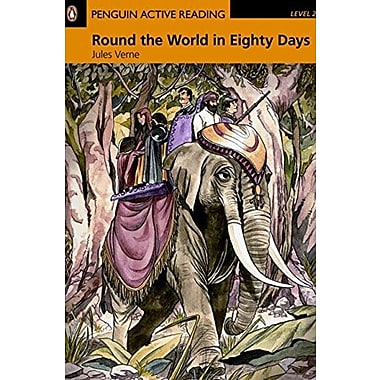 Round the World in Eighty Days, Level 2 Penguin Active Readers (Penguin Active Readers Level 2), Used Book (9781405884419)