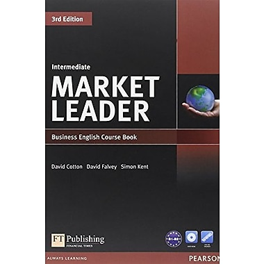 Market Leader Intermediate Coursebook and DVD-Rom Pack, New Book (9781408236956)