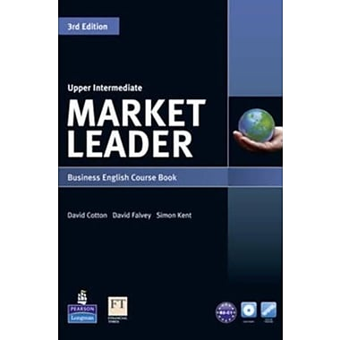 Market Leader Upper Intermediate Course Book with DVD-ROM (9781408237090)