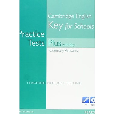 Practice Tests Plus KET with Answer Key and CD-ROM, New Book (9781408267929)