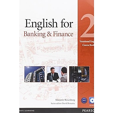 English for Banking & Finance 2 Course Book with CD-ROM, Used Book (9781408269893)