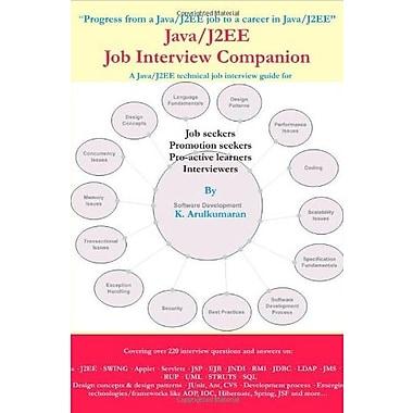 Java/J2EE Job Interview Companion (9781411668249)