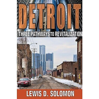 Detroit: Three Pathways to Revitalization, Used Book (9781412851961)