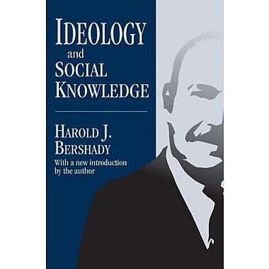 Ideology and Social Knowledge, Used Book (9781412853682)
