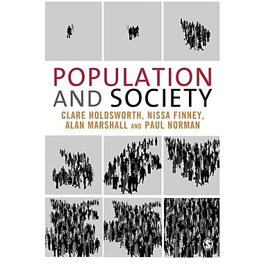 Population and Society, Used Book (9781412900652)