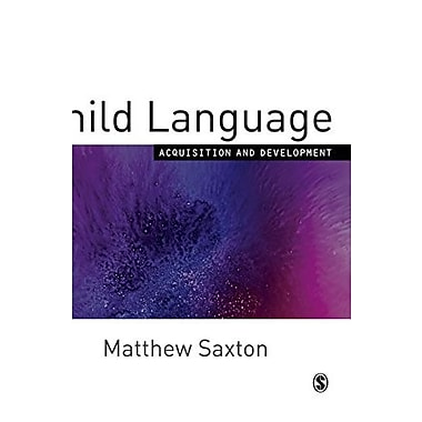 Child Language: Acquisition and Development, Used Book (9781412902311)