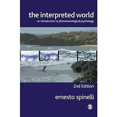 The Interpreted World: An Introduction to Phenomenological Psychology, Used Book (9781412903059)