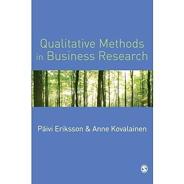 Qualitative Methods in Business Research (Introducing Qualitative Methods series), New Book (9781412903172)