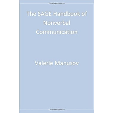 The SAGE Handbook of Nonverbal Communication, Used Book (9781412904049)