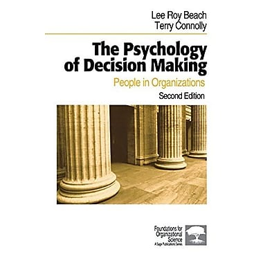 The Psychology of Decision Making: People in Organizations, Used Book (9781412904407)