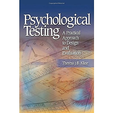 Psychological Testing: A Practical Approach to Design and Evaluation, New Book (9781412905442)