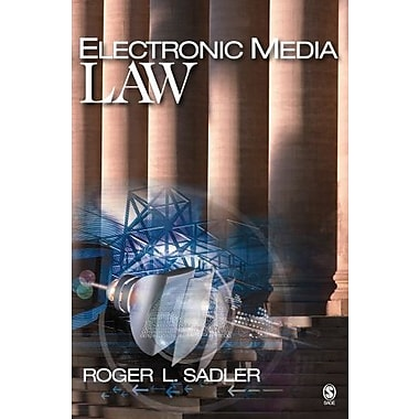 Electronic Media Law, New Book (9781412905886)