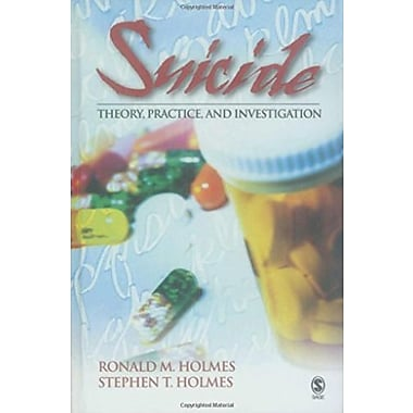 Suicide: Theory, Practice and Investigation, Used Book (9781412910095)