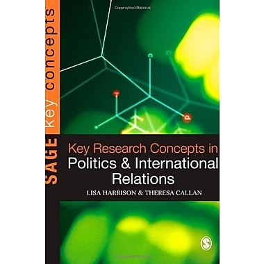 Key Research Concepts in Politics and International Relations (Key Concepts) (9781412911856)