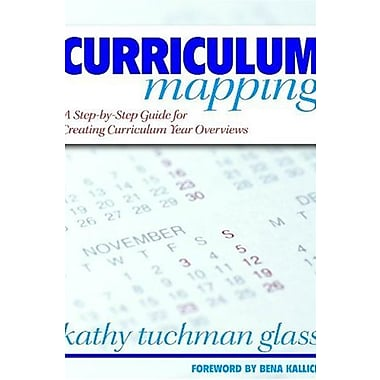 Curriculum Mapping: A Step-by-Step Guide for Creating Curriculum Year Overviews, New Book (9781412915588)