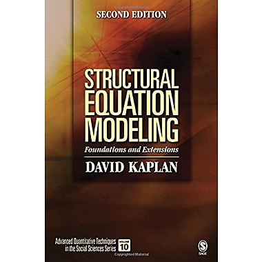 Structural Equation Modeling: Foundations and Extensions (9781412916240), New Book