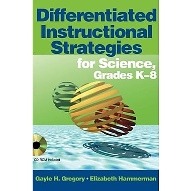 Differentiated Instructional Strategies for Science, Grades K-8, Used Book (9781412916516)