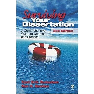 Surviving Your Dissertation: A Comprehensive Guide to Content and Process, Used Book (9781412916783)