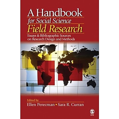 A Handbook for Social Science Field Research, Used Book (9781412916806)