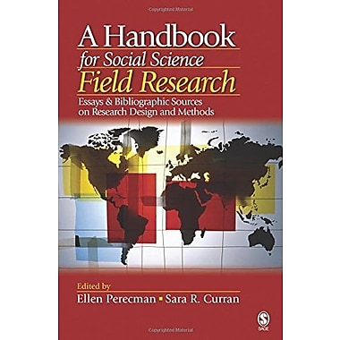 A Handbook for Social Science Field Research, New Book (9781412916813)