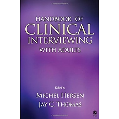 Handbook of Clinical Interviewing With Adults, Used Book (9781412917179)