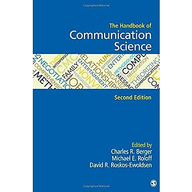 The Handbook of Communication Science, Used Book (9781412918138)