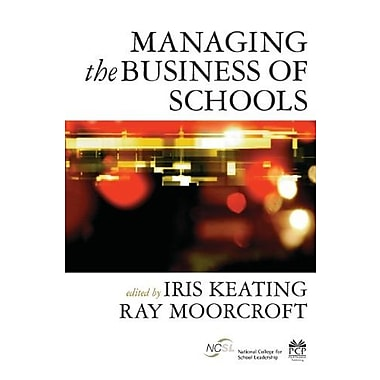 Managing the Business of Schools, Used Book (9781412921176)