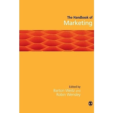 Handbook of Marketing, New Book (9781412921206)