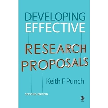 Developing Effective Research Proposals, Used Book (9781412921268)