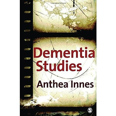 Dementia Studies: A Social Science Perspective, New Book (9781412921633)