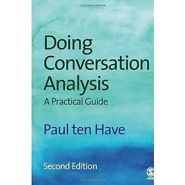 Doing Conversation Analysis, Used Book (9781412921749)
