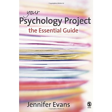 Your Psychology Project: The Essential Guide, New Book (9781412922319)