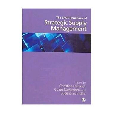 The SAGE Handbook of Strategic Supply Management, Used Book (9781412924085)