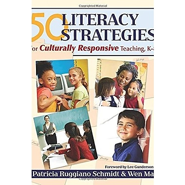 50 Literacy Strategies for Culturally Responsive Teaching, K-8, Used Book (9781412925716)