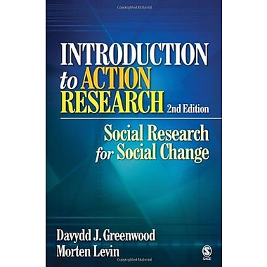 Introduction to Action Research: Social Research for Social Change, New Book (9781412925976)