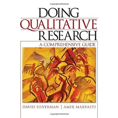 Doing Qualitative Research: A Comprehensive Guide, New Book (9781412926393)