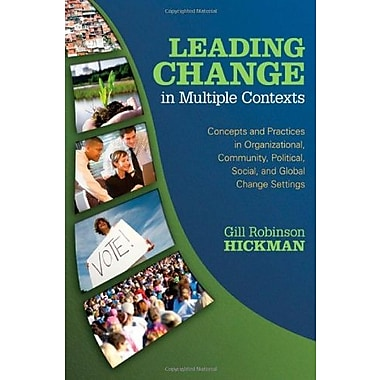 Leading Change in Multiple Contexts, New Book