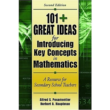 101+ Great Ideas for Introducing Key Concepts in Mathematics, Used Book (9781412927055)