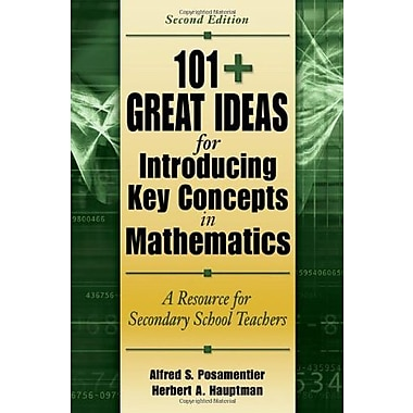 101+ Great Ideas for Introducing Key Concepts in Mathematics, Used Book (9781412927062)