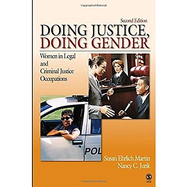 Doing Justice, Doing Gender: Women in Legal and Criminal Justice Occupations, New Book (9781412927215)