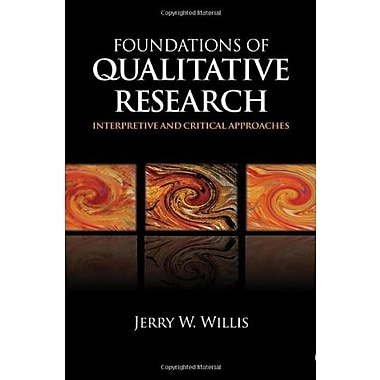 Foundations of Qualitative Research: Interpretive and Critical Approaches, Used Book (9781412927406)