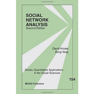 Social Network Analysis (Quantitative Applications in the Social Sciences), New Book (9781412927499)