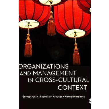 Organizations and Management in Cross-Cultural Context, Used Book (9781412928731)