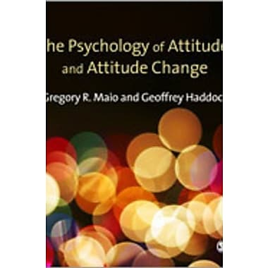 The Psychology of Attitudes and Attitude Change, Used Book (9781412929745)