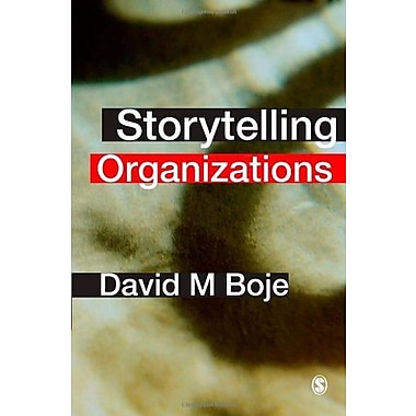 Storytelling Organizations, Used Book (9781412929769)