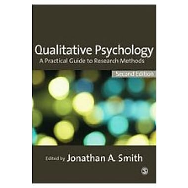 Qualitative Psychology: A Practical Guide to Research Methods, New Book (9781412930833)