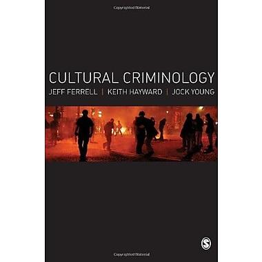 Cultural Criminology: An Invitation, New Book (9781412931267)