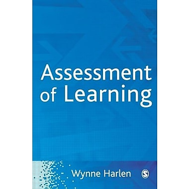 Assessment of Learning, Used Book (9781412935197)