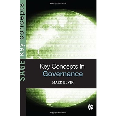 Key Concepts in Governance (SAGE Key Concepts series), New Book (9781412935692)